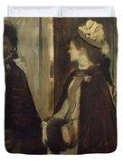Madame Jeantaud In The Mirror Duvet Cover