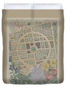 Madame Jumel's Garden Duvet Cover