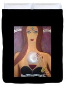 Madame Malbec Fortune Favors The Bold Duvet Cover
