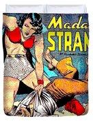 Madame Strange Comic Super Hero Duvet Cover