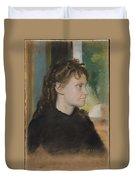 Madame Theodore Gobillard Yves Morisot, 1838-1893 , Edgar Degas French, Paris 1834-1917 Paris Duvet Cover