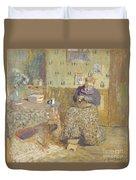 Madame Vuillard Sewing Duvet Cover