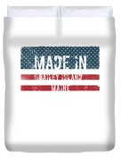 Made In Bailey Island, Maine Duvet Cover