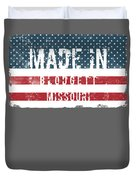 Made In Blodgett, Missouri Duvet Cover
