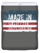 Made In Bluffton, South Carolina Duvet Cover