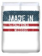 Made In California, Missouri Duvet Cover