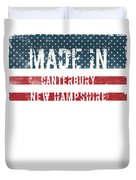 Made In Canterbury, New Hampshire Duvet Cover