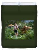 Made In China Soccer Player Duvet Cover