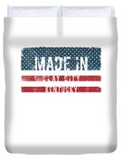 Made In Clay City, Kentucky Duvet Cover
