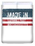 Made In Hyannis Port, Massachusetts Duvet Cover