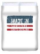Made In Jamestown, South Carolina Duvet Cover