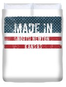Made In North Newton, Kansas Duvet Cover