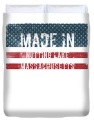 Made In Nutting Lake, Massachusetts Duvet Cover