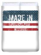 Made In Philadelphia, Missouri Duvet Cover