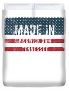 Made In Pickwick Dam, Tennessee Duvet Cover