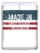 Made In Port Orchard, Washington Duvet Cover