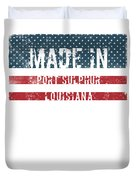 Made In Port Sulphur, Louisiana Duvet Cover