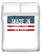 Made In Saddle River, New Jersey Duvet Cover