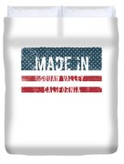 Made In Squaw Valley, California Duvet Cover