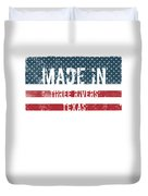 Made In Three Rivers, Texas Duvet Cover