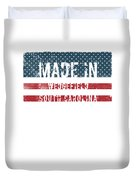 Made In Wedgefield, South Carolina Duvet Cover