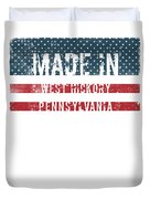 Made In West Hickory, Pennsylvania Duvet Cover
