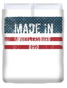 Made In Wheelersburg, Ohio Duvet Cover