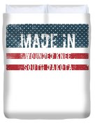 Made In Wounded Knee, South Dakota Duvet Cover