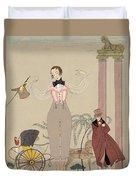 Mademoiselle De Maupin Duvet Cover