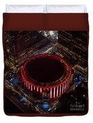 Madison Square Garden Aerial Duvet Cover
