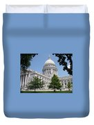 Madison Wi State Capitol Duvet Cover
