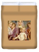 Madonna Of Giverny, 1901 Detail Duvet Cover