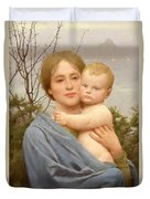 Madonna Of The Mount  Duvet Cover by Thomas Cooper Gotch