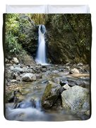 Maekutlong Waterfall Duvet Cover