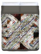 Mag 6 Abstract Painting Duvet Cover