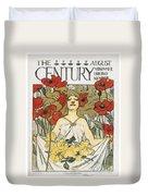 Magazine: Century, 1896 Duvet Cover