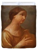 Magdalene With The Jar Of Ointment Duvet Cover