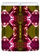 Magenta Crystals Pattern 2 Duvet Cover