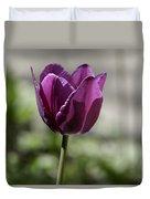 Magenta Tulip Squared Duvet Cover