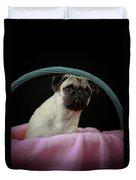 Maggie In A Basket Duvet Cover