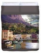 Magic Dawn Resort Duvet Cover