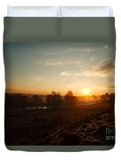 Magic Hour At Chasewater Duvet Cover