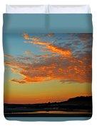 Magic Moments Over Cape Cod Bay Duvet Cover