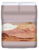 Magic Of The Breakaways South Australia 2014 To 16 Duvet Cover