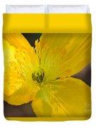 Magic Of The Golden Poppy Duvet Cover