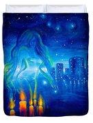 Magic Of The Night Duvet Cover