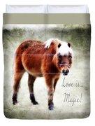 Magic Pony  Duvet Cover