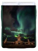 Magical Aurora Duvet Cover