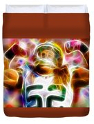 Magical Clay Matthews Duvet Cover