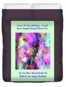 Magical Day Duvet Cover